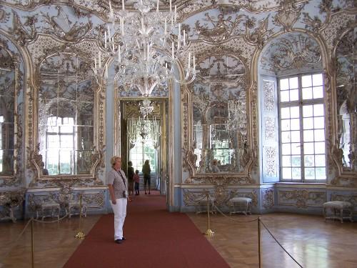 Amalienburg, Hall of mirror