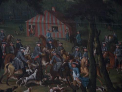 Amaliemburg, Huntingroom