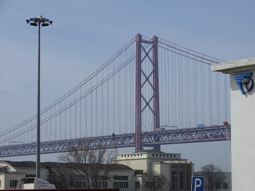 Rote Brücke Ponte 25 de Abril