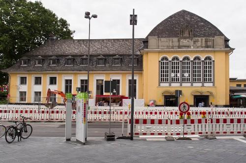 Erneuerung des Bahnhofs