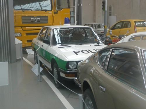 Polizeiauto BMW 525ie