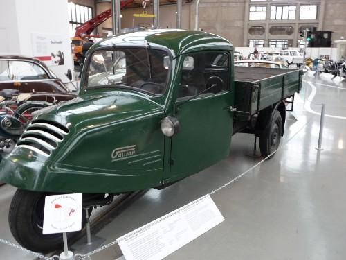 Dreiradwagen Goliath