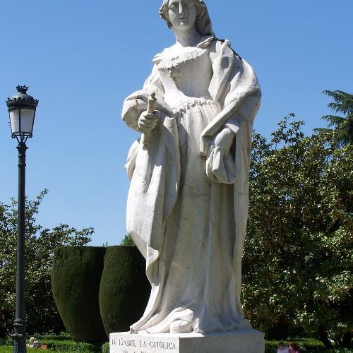 Statue Isabel I