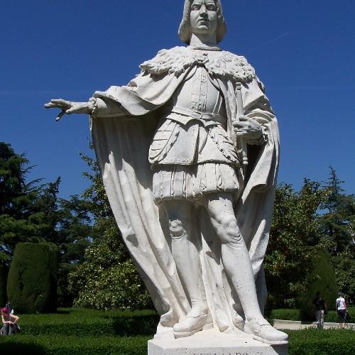 Statue Ferdinand V