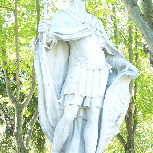 Statuen Suintila u. Leovigildo
