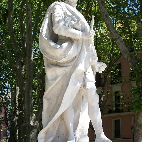 Statuen Ordono I u. Alonso III