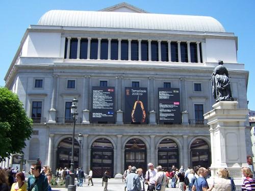 Theatro Real, Opernhaus