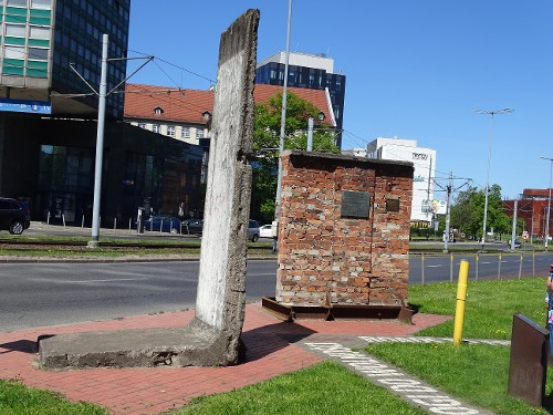 Pieces of Berlin West and Gdansk Shipyard Wall