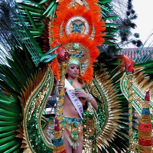 Karneval an der Plaza de Espana