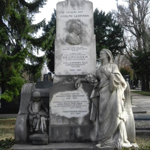 Grab von Adolph Lehmann