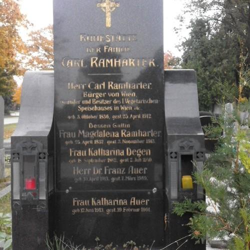 Grab von Karl und Magdalena Ramharter
