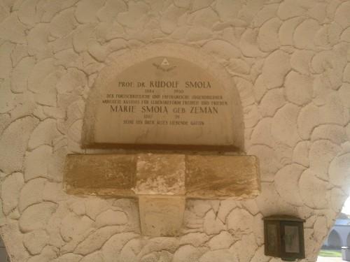 Urnengrab Rudolf Smola