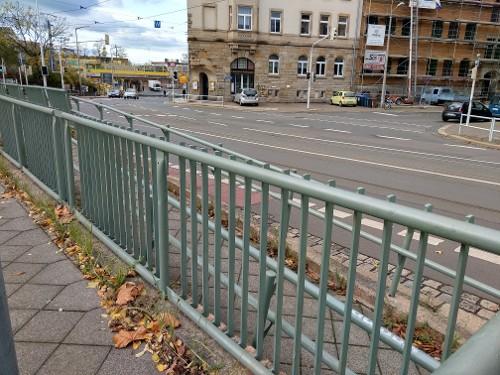 Traffic Light Handrail