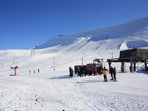 Skigebiet Bláfjöll