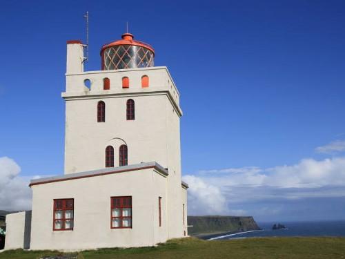 Leuchtturm Dyrhólaey