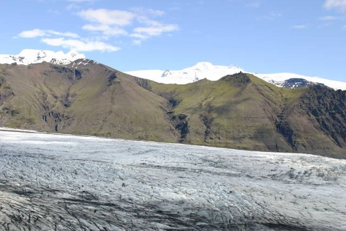 Massenbilanz von Gletschern