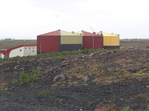Wassertanks Keflavík