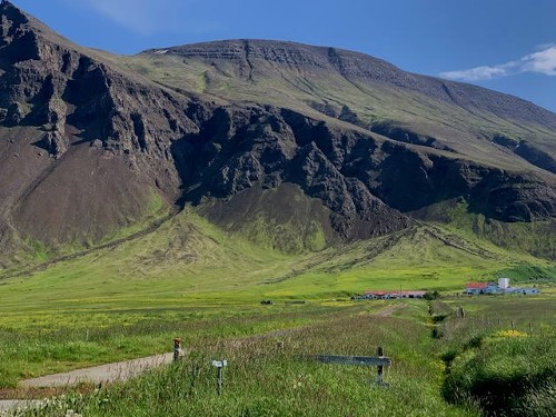 Siedlungsstruktur in Island