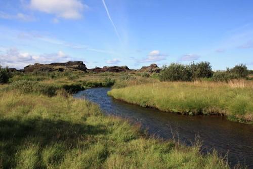 Rauðhólar und Heiðmörk