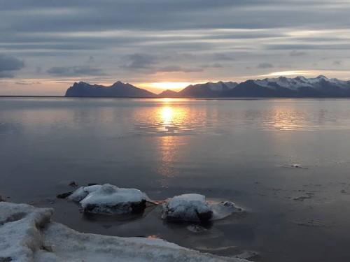 Aufgefüllte Fjorde