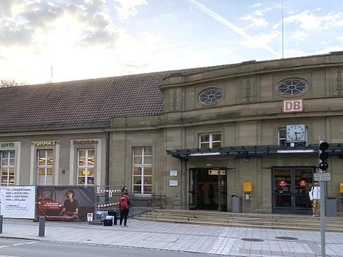 Vorwort und Bahnhof Coburg