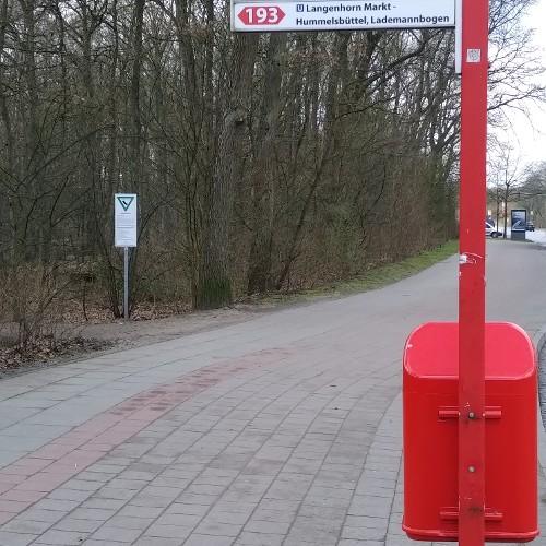 Bushaltestelle - Ermlandweg