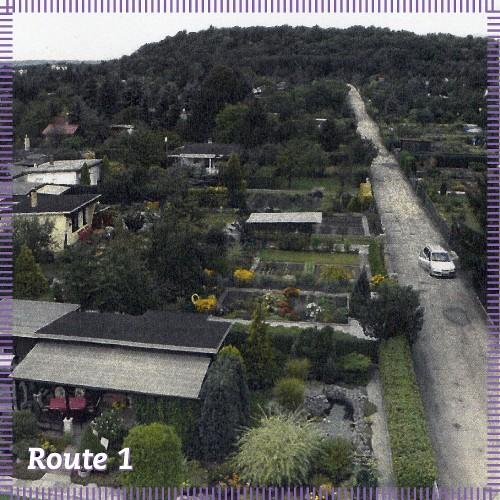 Route 1   Spuren der Geschichte? Spaziergang durch die Hellersiedlung
