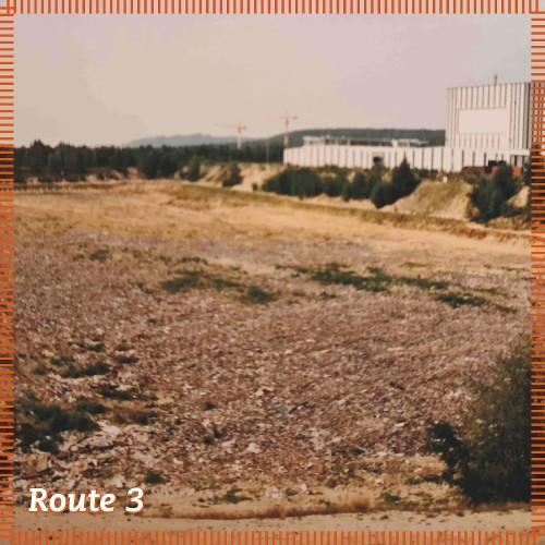 Route 3   Zwischenstation