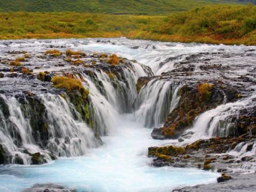 Wasserfall Brúarfoss