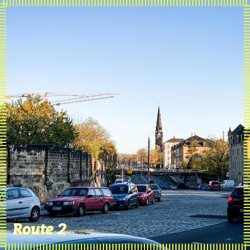 Route 2 | Mit Knobelbechern über die Heeresstraße