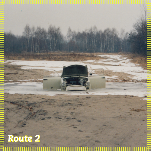 Route 2 | Trabanten in der Schußbahn