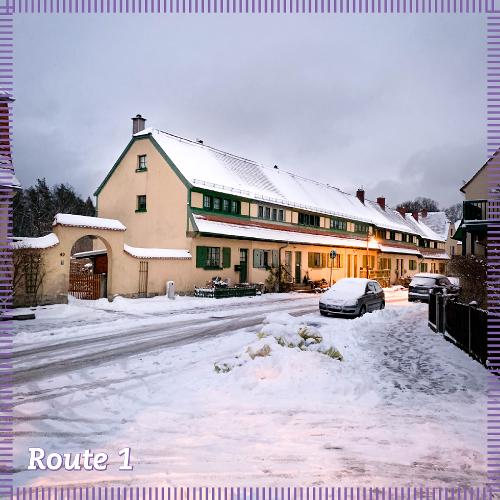 Route 1 | Besiedlung des Heidewaldes und Idee der Gartenstadt