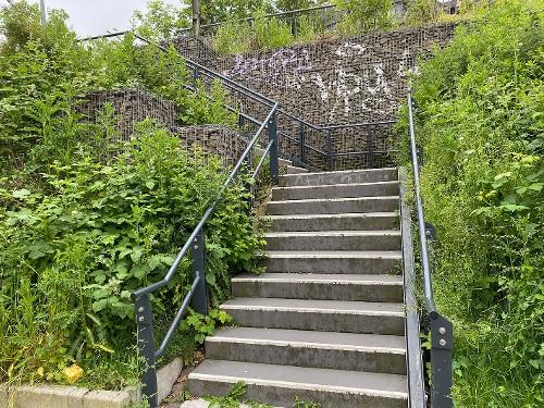 Treppe zu Friedell