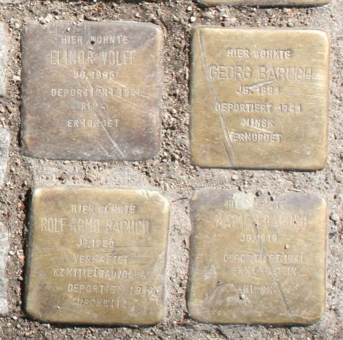 Stolpertonsteine Hamburg