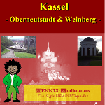 Kassel, New uppertown and vineyard