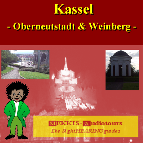Kassel, New uppertown and vineyard