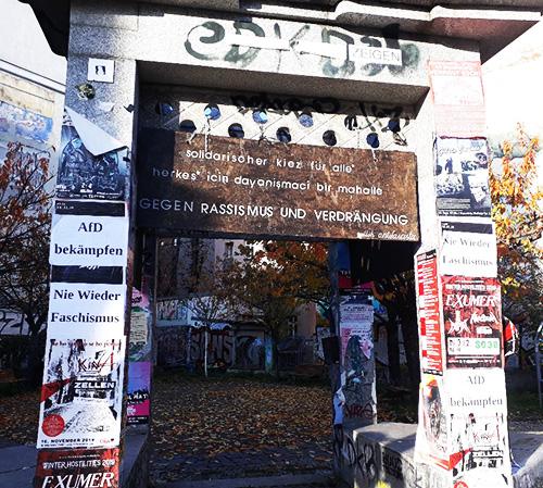 Geschichte des Rassismus und Widerstand dagegen in Kreuzberg 36
