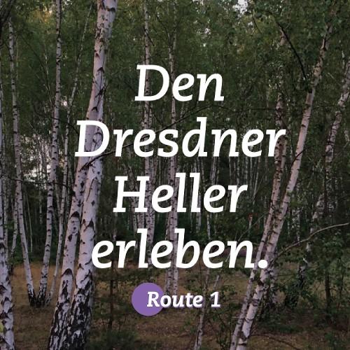 HELLER ERLEBEN | Route 1 | Part 1 |  Trachenberge bis Hellerberge