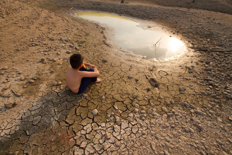 water evaporation facts climate change