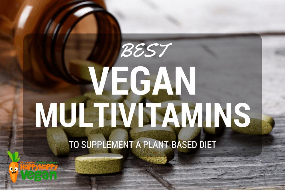 Best Vegan Multivitamins To Supplement A Plant-Based Diet