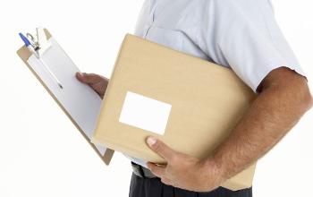 Empresa de recogida y entrega de paquetes