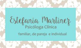 Consultorio de la Psicóloga Estefanía Martínez