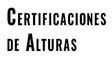 Certificaciones de Alturas