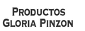 Productos Gloria Pinzon