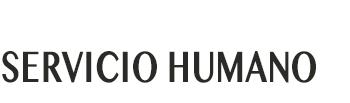 Servicio Humano