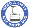 NYC Snow Bus