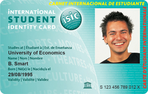 About us isic for University id card template