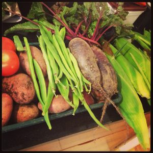 Vegetables a plenty