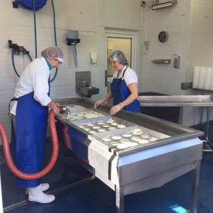 The ladies making Durrus Cheese