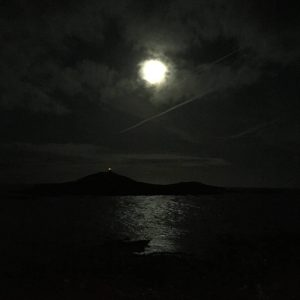 Night time in Ballycotton